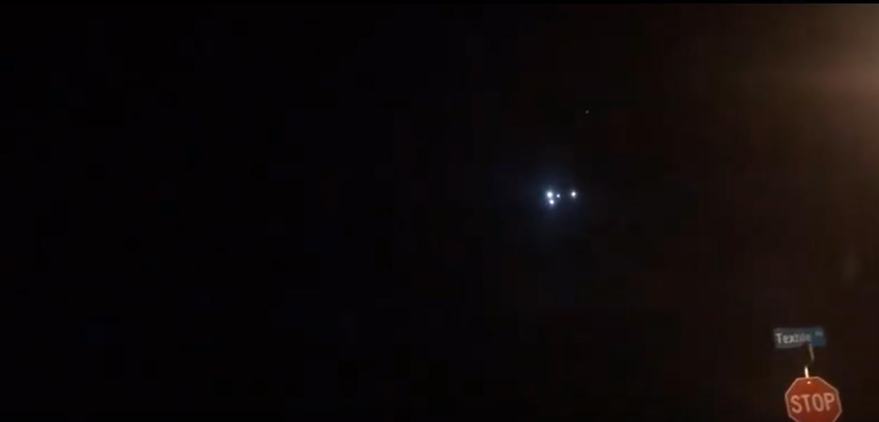 Suposto ovni é captado em vídeo, nos Estados Unidos.