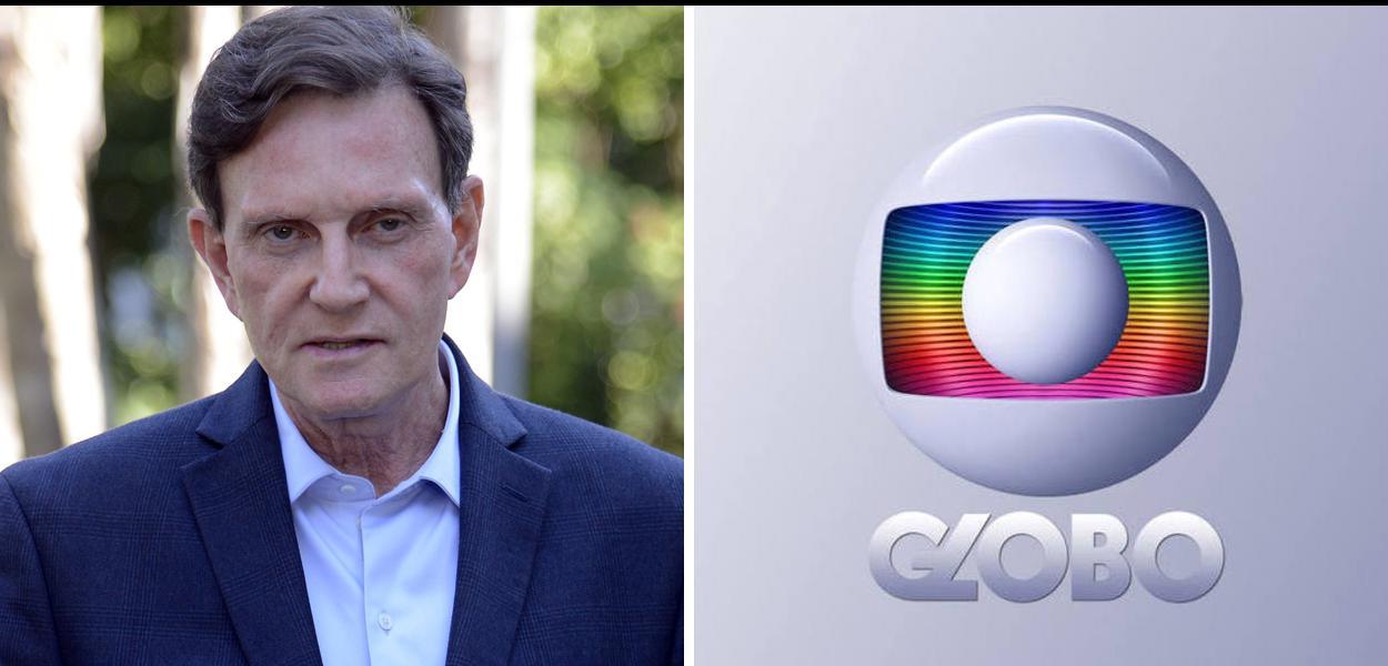 Prefeito do Rio de Janeiro, Marcelo Crivella, e Rede Globo.