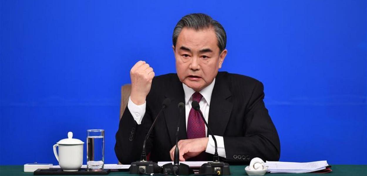 China, chanceler Wang Yi