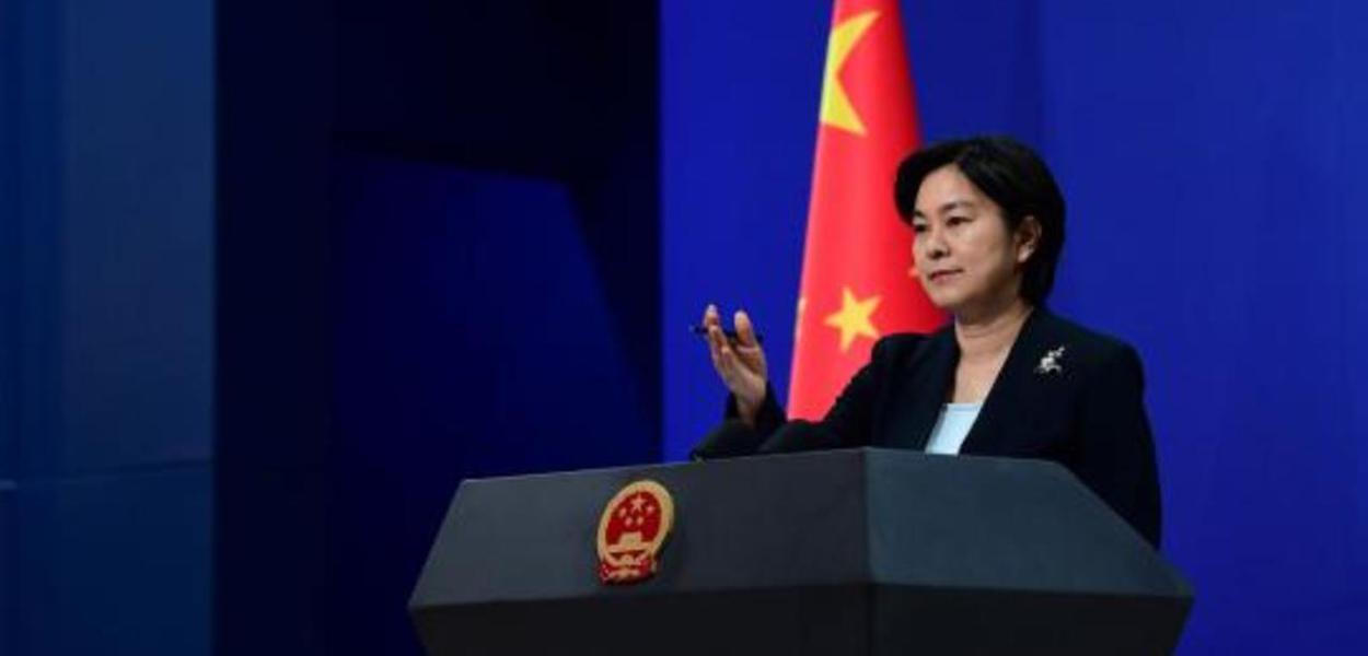 China, porta-voz MRE