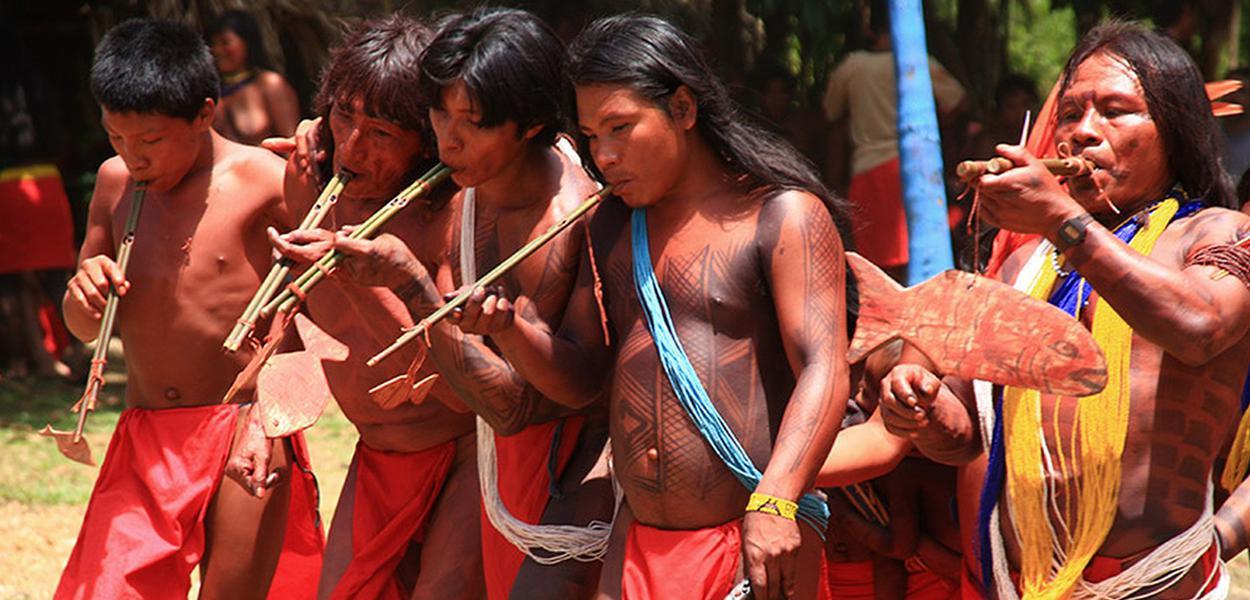 Terra Indígena Waiãpi (TIW), no Oeste do Amapá