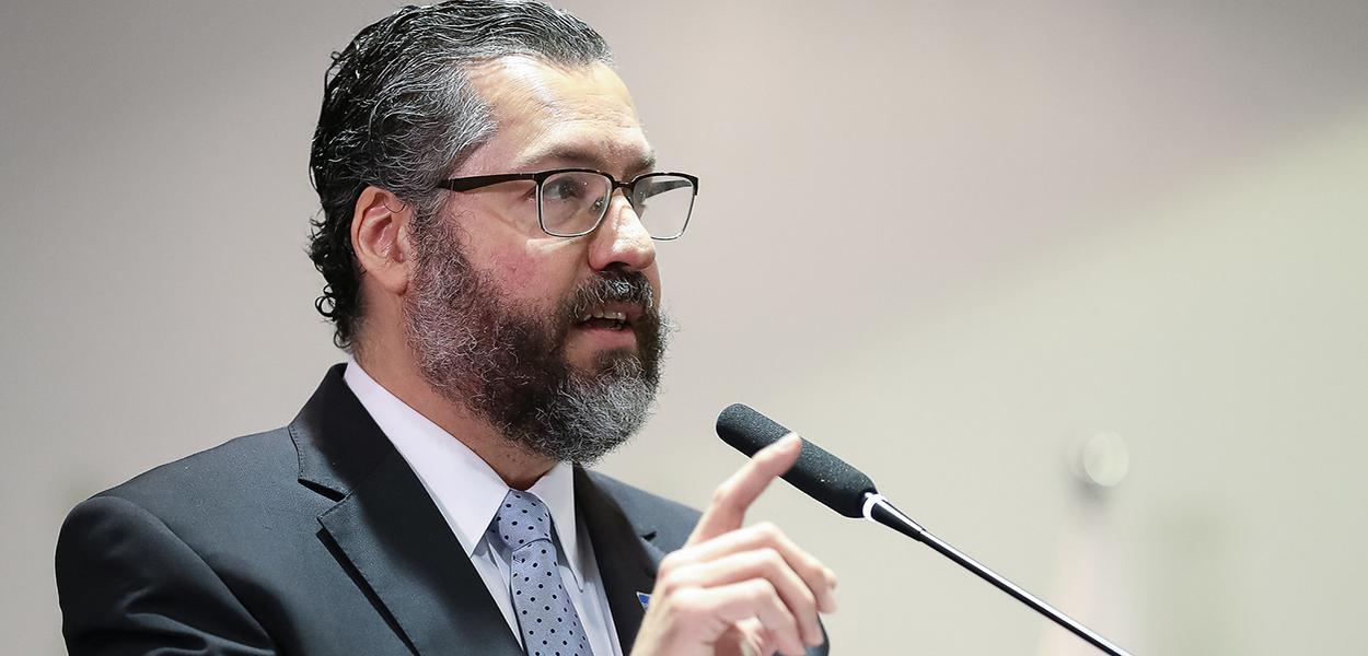 Ministro das Relações Exteriores, Embaixador Ernesto Araújo