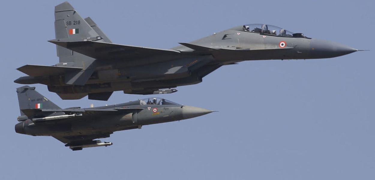 Rússia, Índia, caças
