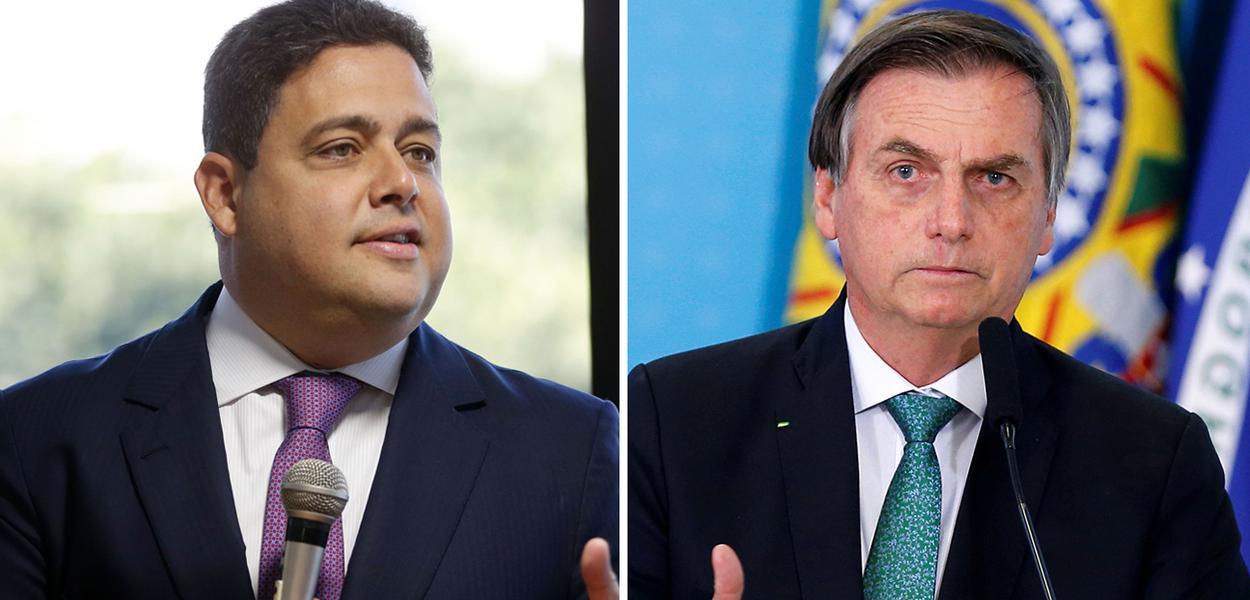 Felipe Santa Cruz e Jair Bolsonaro