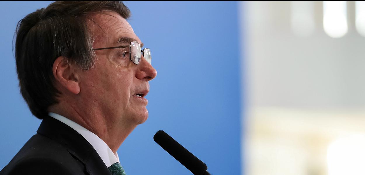 (Brasília - DF, 24/07/2019) Palavras do Presidente da República, Jair Bolsonaro.\rFoto: Marcos Corrêa/PR