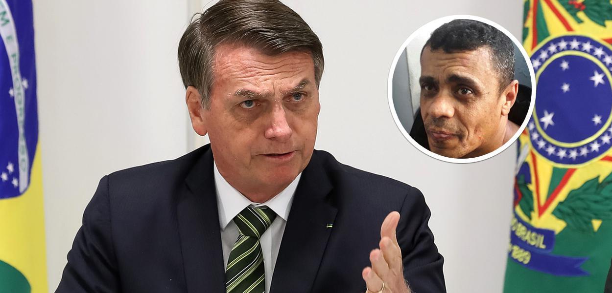 Jair Bolsonaro e Adelio Bispo