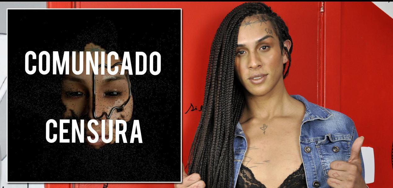 Linn da Quebrada comunica censura em show que faria em João Pessoa (PB).
