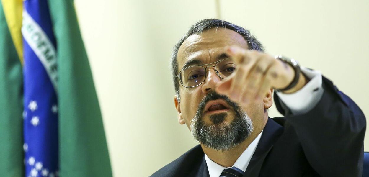 Ministro da Educação Abraham Weintraub.