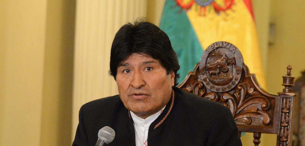 Presidente da Bolívia, Evo Morales.