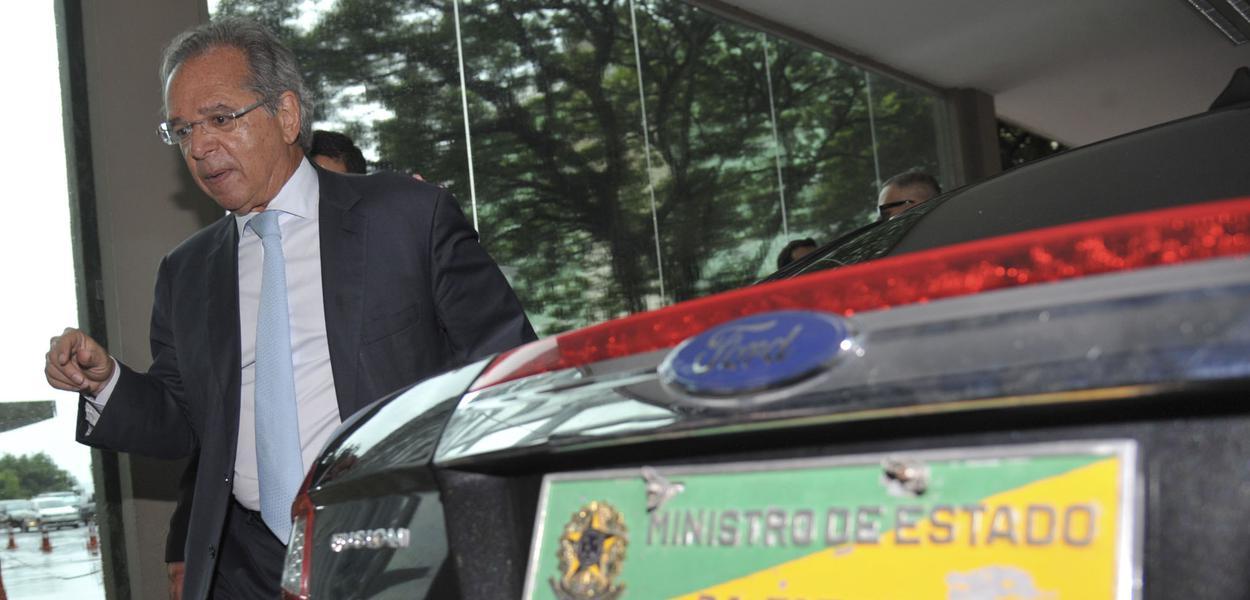 Brasilia - economista Paulo Guedes, Ministro da Economia.