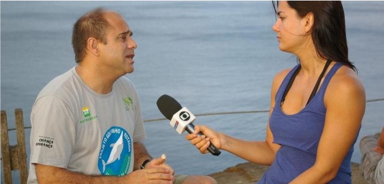 Fernando de Noronha - Oceanógrafo José Martins da Silva Júnior.