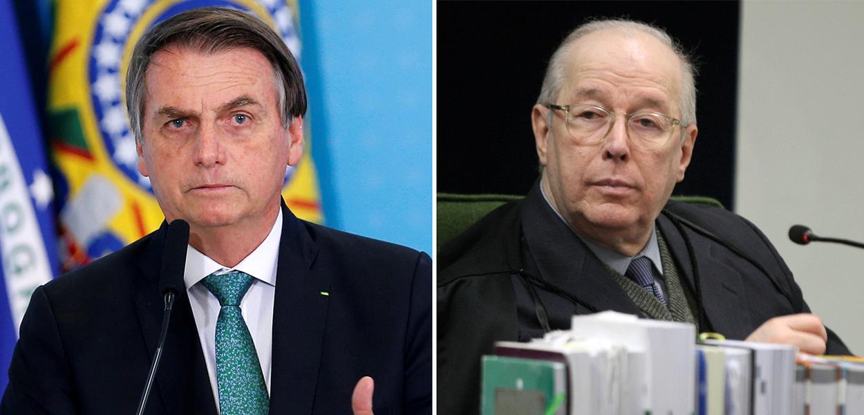 Jair Bolsonaro e Celso de Mello