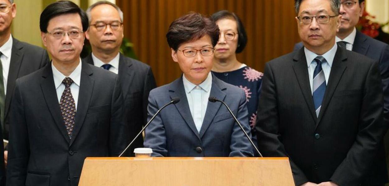 Governadora Hong Kong