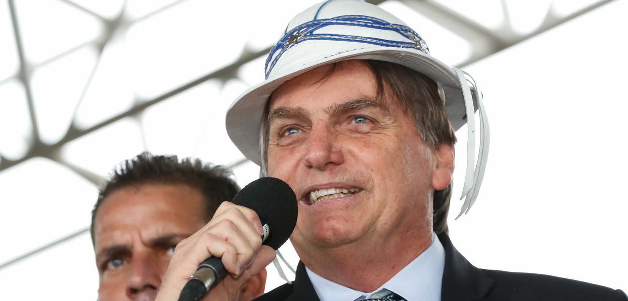 Presidente da República, Jair Bolsonaro fala ao povo