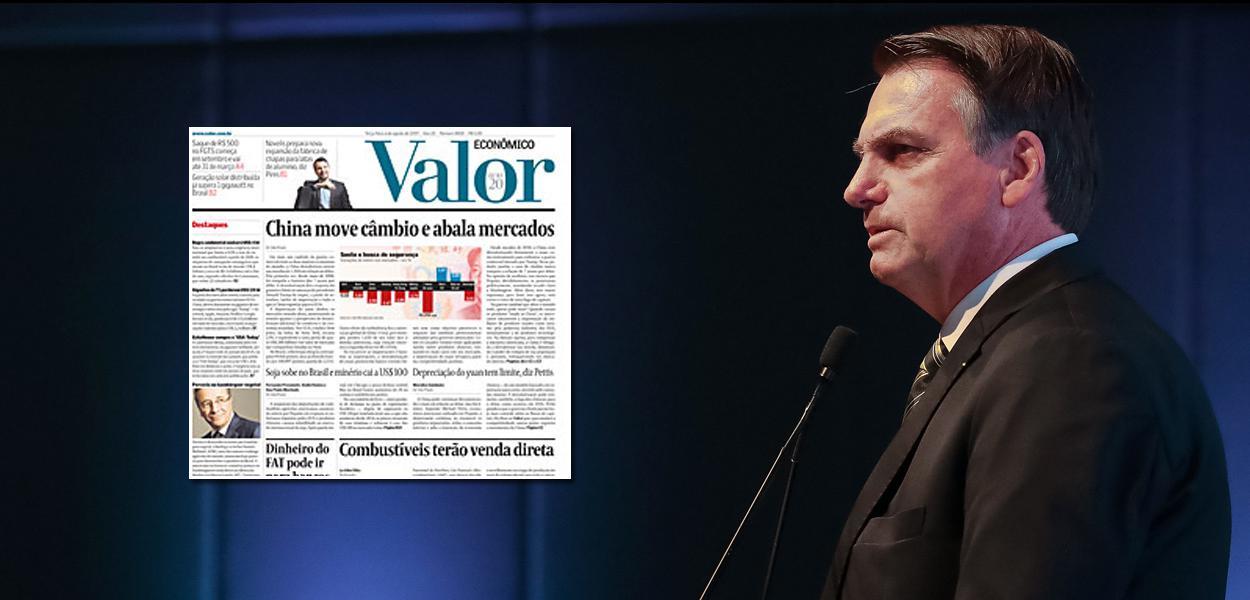 MP de Bolsonaro asfixia Valor Econômico