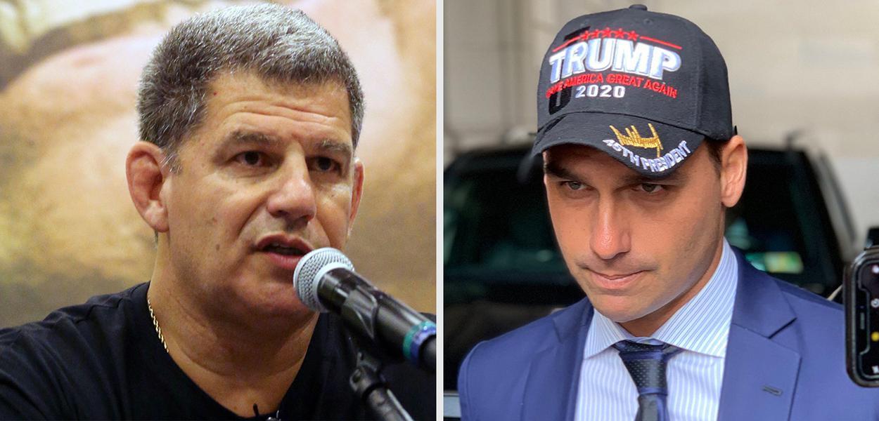 Gustavo Bebianno e Eduardo Bolsonaro