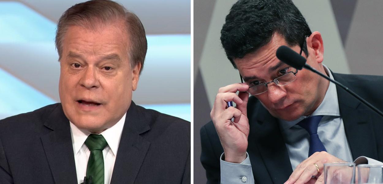 Chico Pinheiro e Sergio Moro