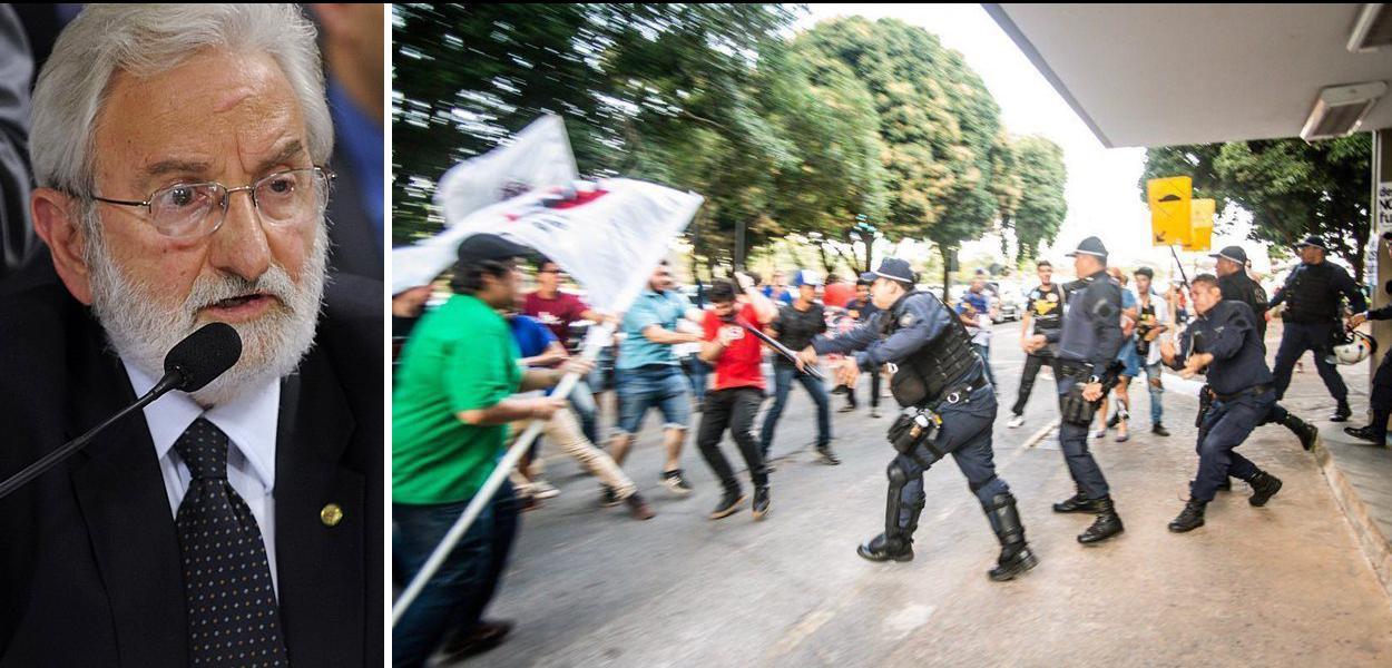 PSOL tenta barrar Força Nacional de protestos pela educação