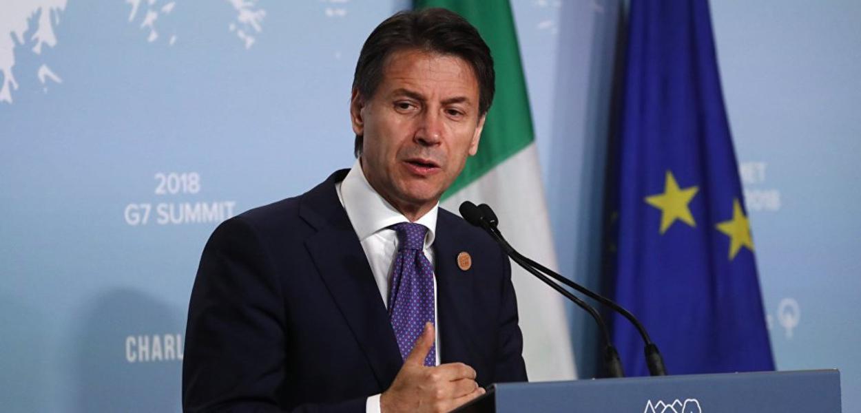 Giuseppe Conte, primeiro-ministro italiano