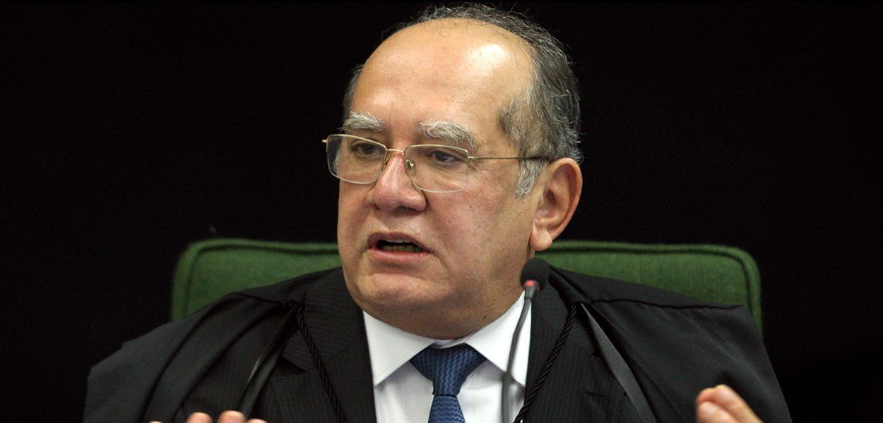 Ministro Gilmar Mendes em sessão da 2ª turma do STF.