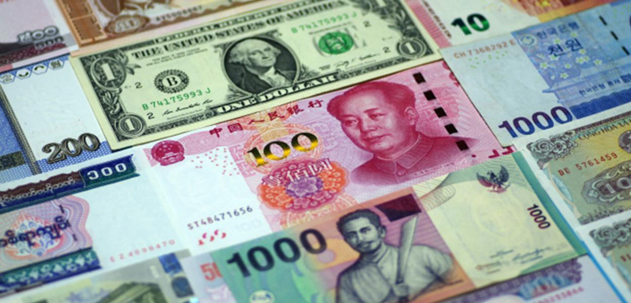 Dólar e Yuan