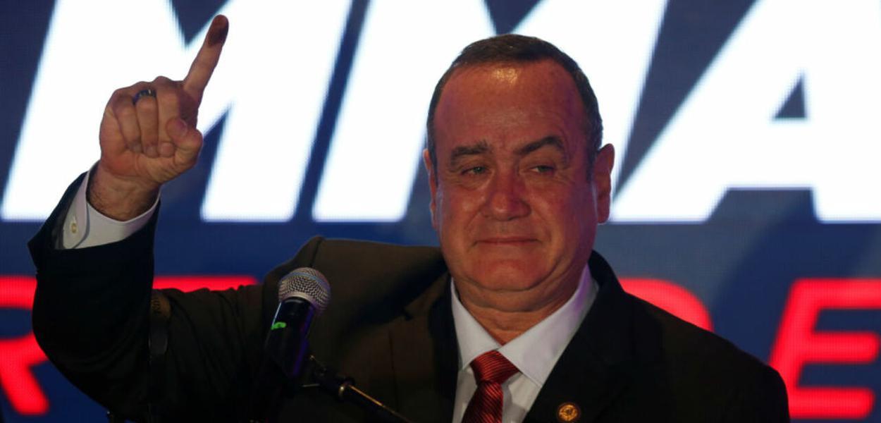 Guatemala, presidente eleito