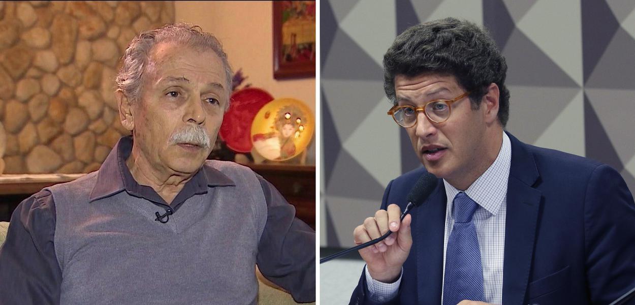 Ricardo Galvão e Ricardo Salles