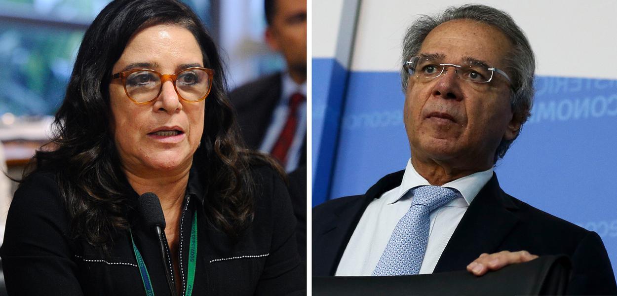Elizabeth Guedes e Paulo Guedes