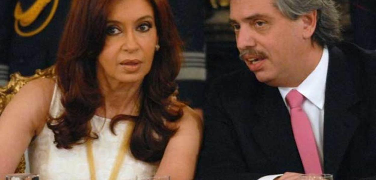 Cristina Kirchner e Alberto Fernández