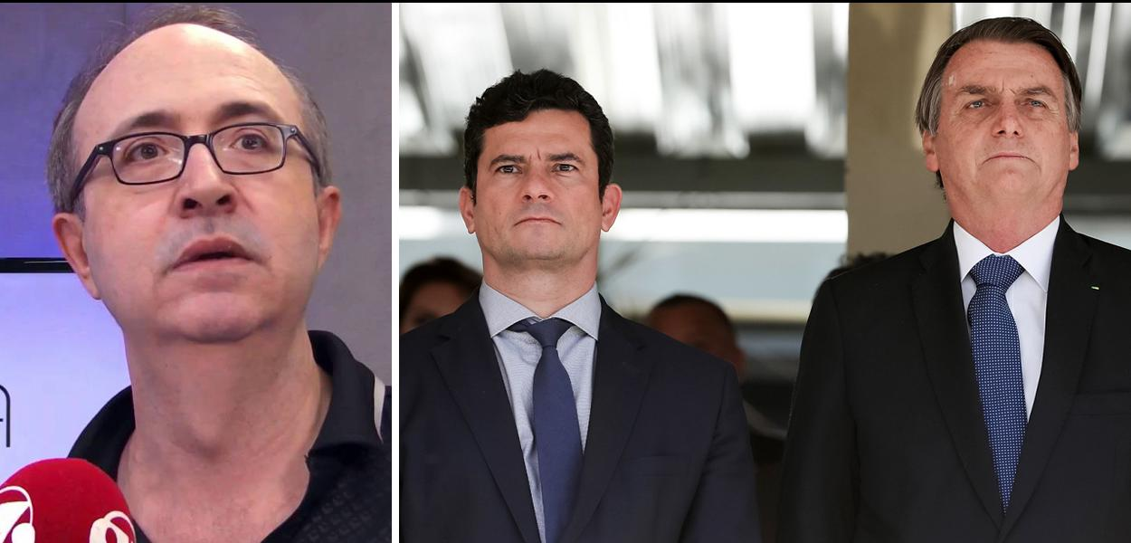 Reinaldo Azevedo diz que Bolsonaro escancara a suspeição de Moro