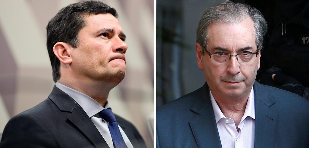 Sergio Moro e Eduardo Cunha