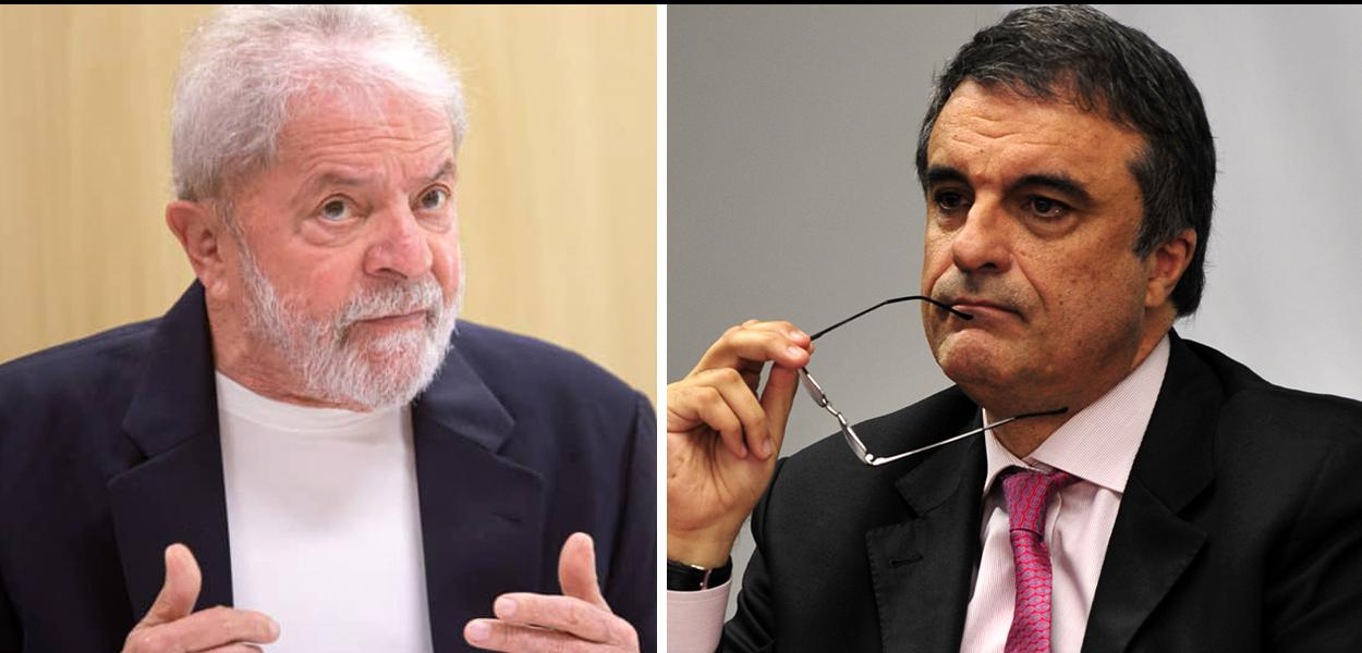 Lula e José Eduardo Cardozo
