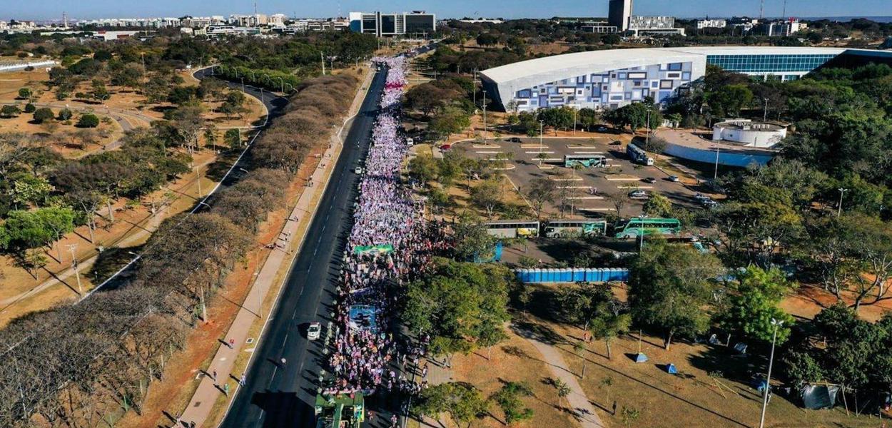 Marcha das Margaridas em Brasília