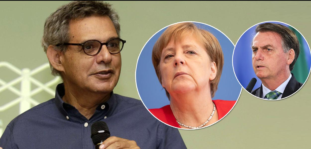 Dimenstein se solidariza com Merkel após truculência de Bolsonaro