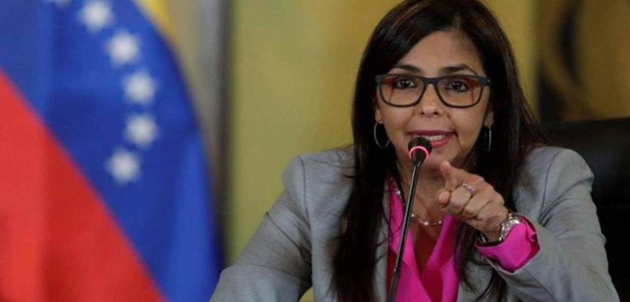 Delcy Rodríguez, vice-presidente da Venezuela
