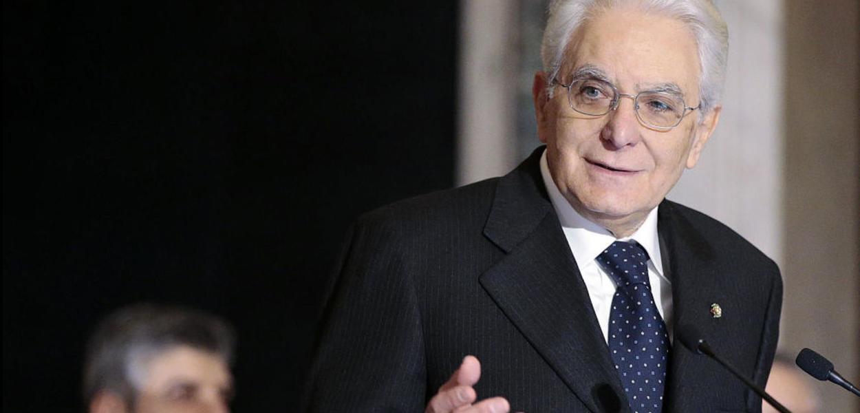 Sergio Matarella, presidente da Itália