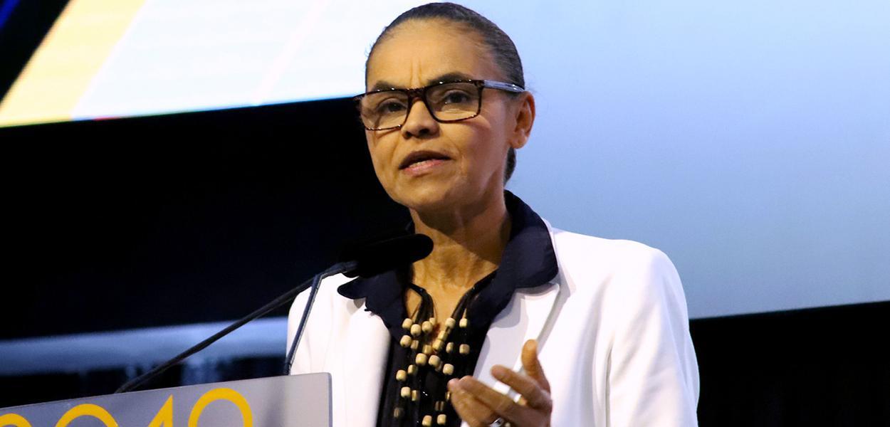 Marina Silva em discurso