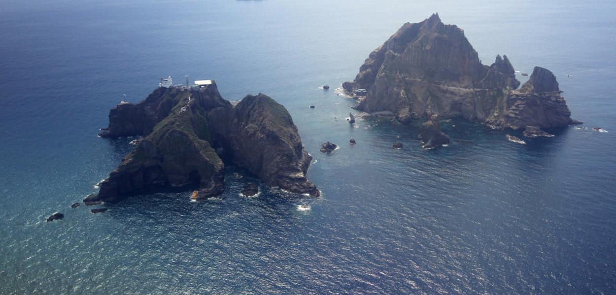 Japão e Coreia do Sul, ilhas em disputa