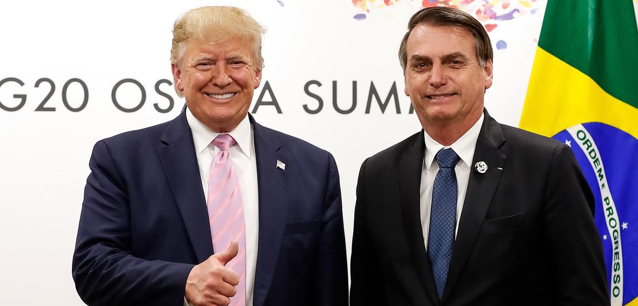 Donald Trump e Jair Bolsonaro