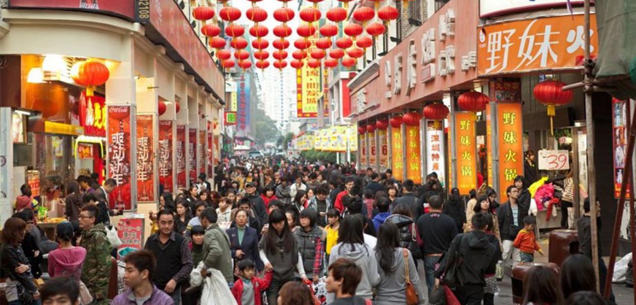 China, comércio