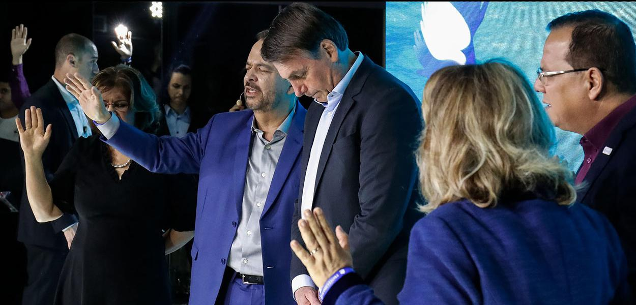 (Brasília - DF, 04/08/2019) Culto Especial de Celebrac?a?o de 25 anos da Igreja Fonte da Vida. \rFoto: Alan Santos/PR
