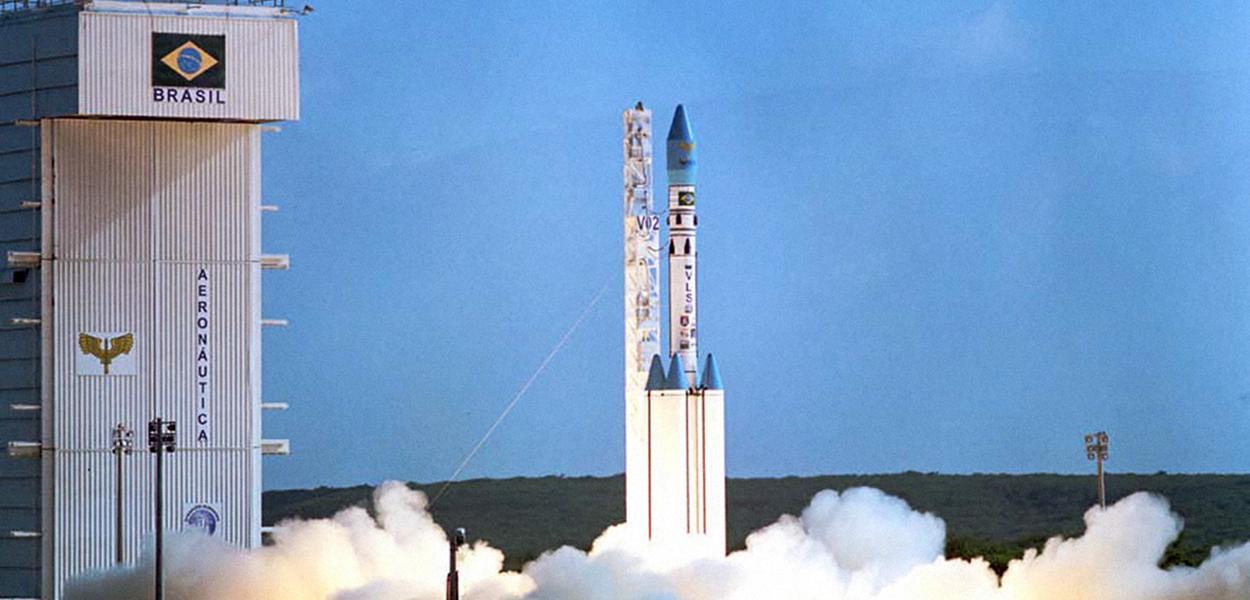 Lançamento do VLS-1 V02 em 1999