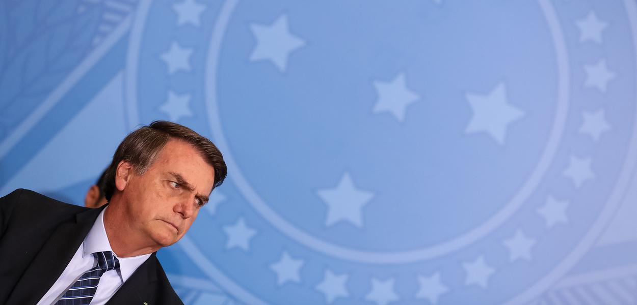 (Brasília - DF, 29/08/2019) Jair Bolsonaro na Solenidade de Lançamento do Projeto em Frente Brasil.