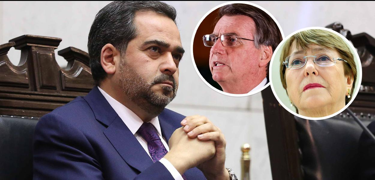 Bolsonaro ataca pai de Bachelet.