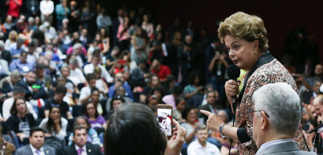 Brasília- DF. 04-09-2019- Seminário pela Soberania Nacional e Popular, com a presença de Dilma Roussef, Fernando Haddad e Guilherme Boullos. Foto Lula Marques