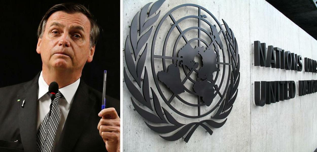 Jair Bolsonaro e declarações que prejudicam campanha do Brasil para conquistar uma vaga no Conselho de Direitos Humanos da ONU.