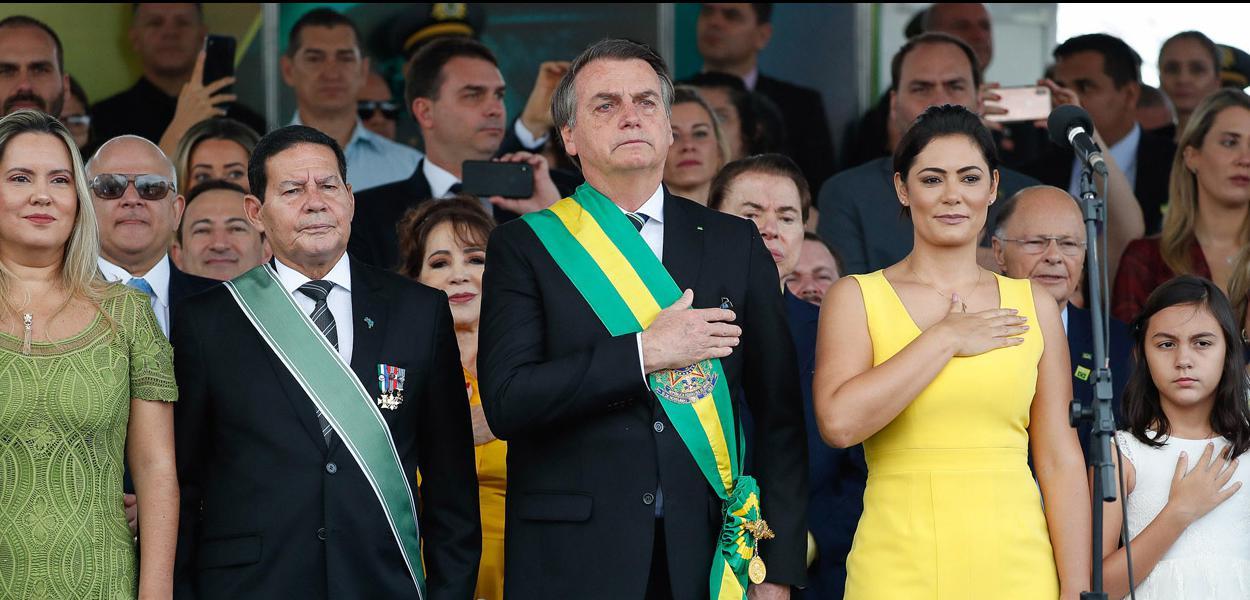 (Brasília - DF, 07/09/2019) Presdiente da República, Jair Bolsonaro, durante  desfile Cívico por ocasião do Dia da Pátria\r