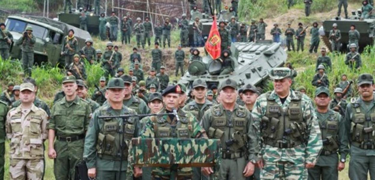 Venezuela, exercícios militares