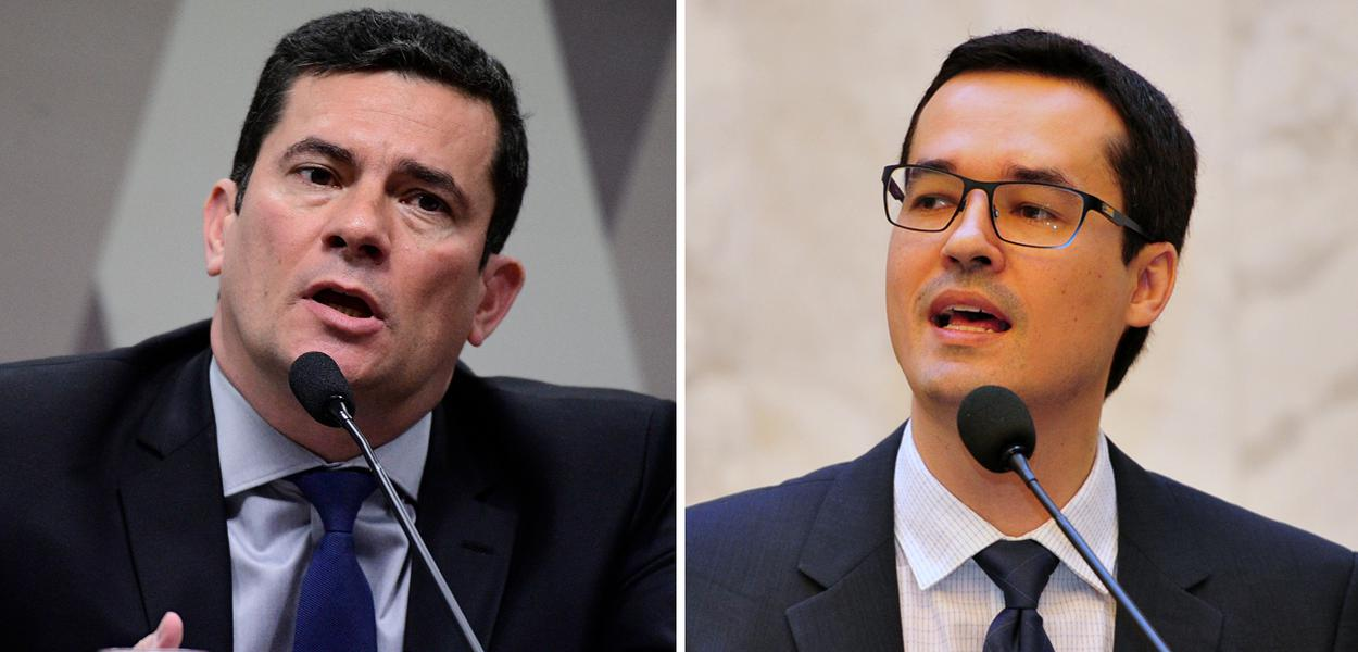 Sergio Moro e Deltan Dallagnol
