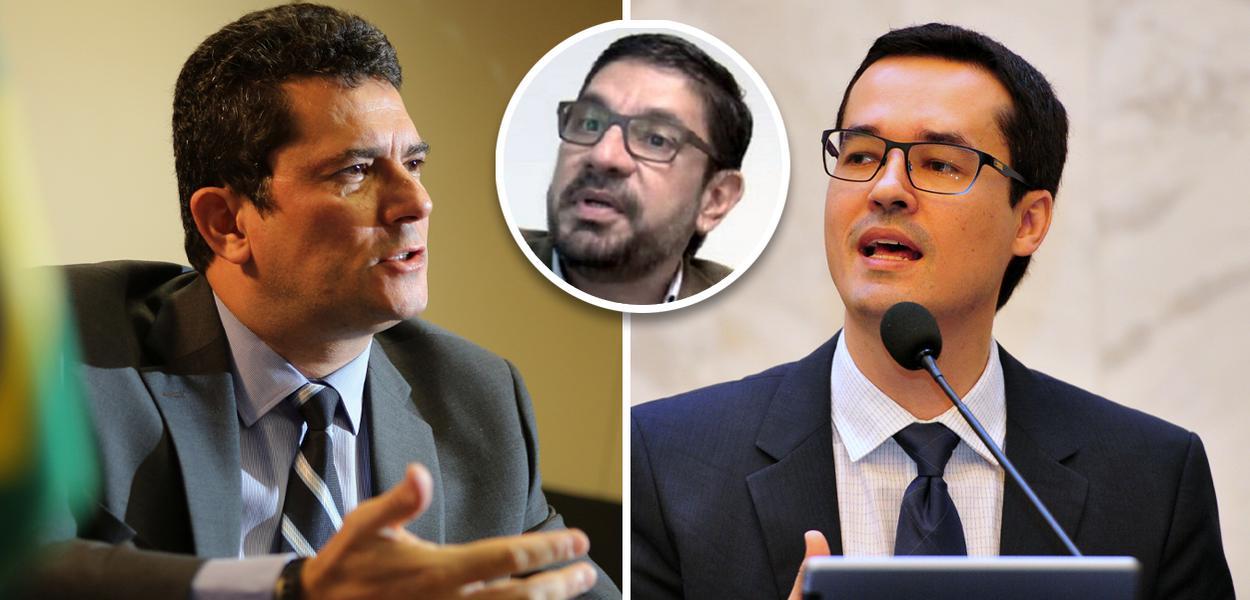 Sergio Moro, Raul Schmidt e Deltan Dallagnol